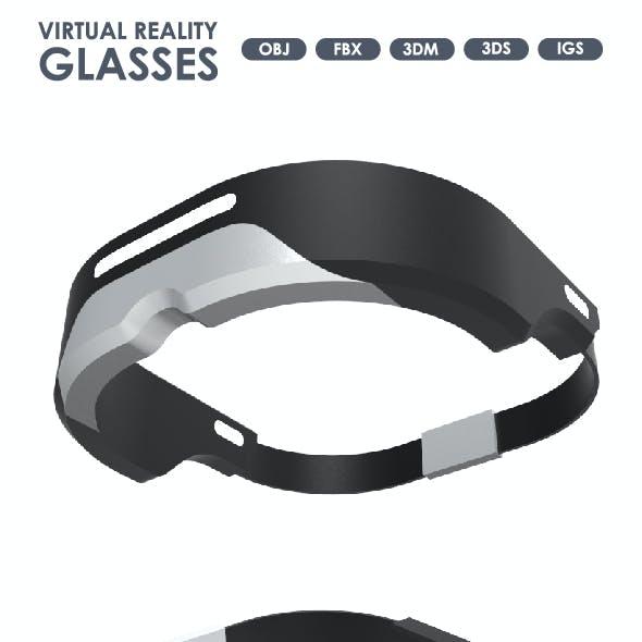 3D Model of Virtual Reality Glasses.