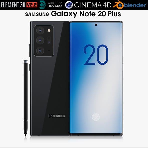 Samsung Galaxy Note 20 Plus black