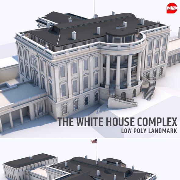 The White House Complex Washington Landmark