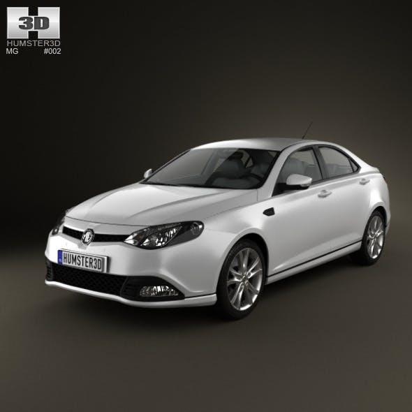 MG6 Magnette 2012 - 3DOcean Item for Sale