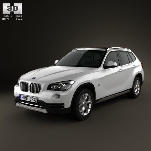BMW X1 2013 - 3DOcean Item for Sale