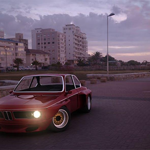 BMW e9 widebody
