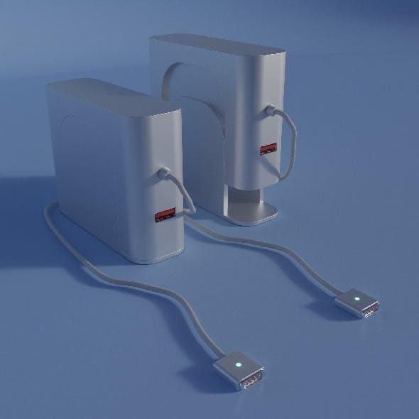 iMac and USB charger