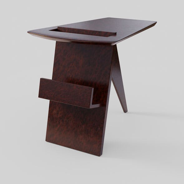 Magazine Table 3D model