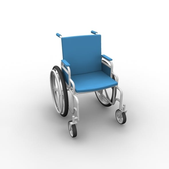 wheelchair - 3DOcean Item for Sale