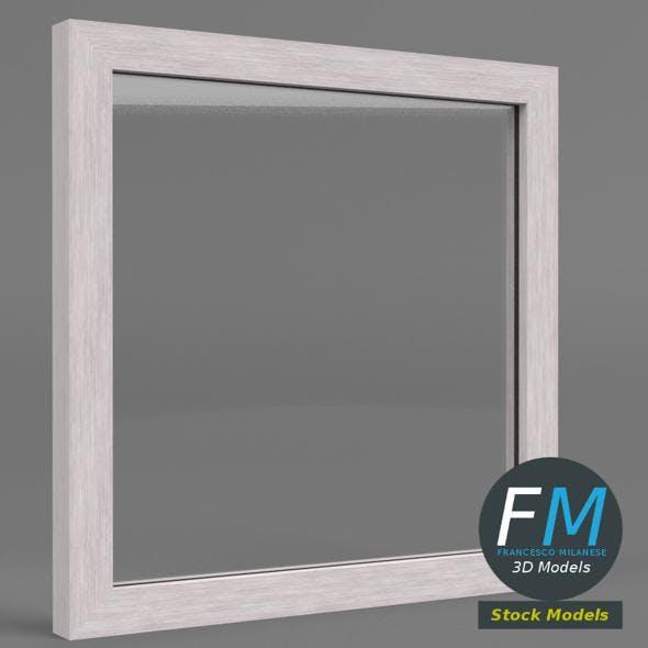 Acrylic barrier with frame