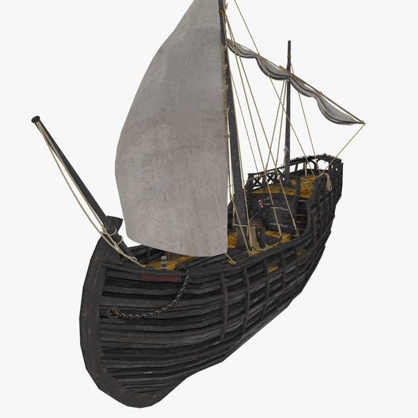 Notorious ship (lowpole)