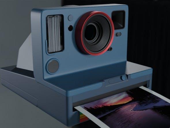 Photo Camera(Polaroid) - 3DOcean Item for Sale