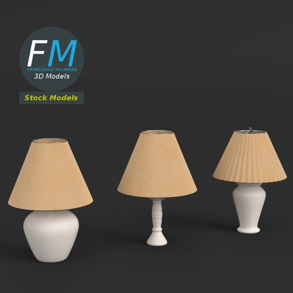 Abat-jours (3 lamps)
