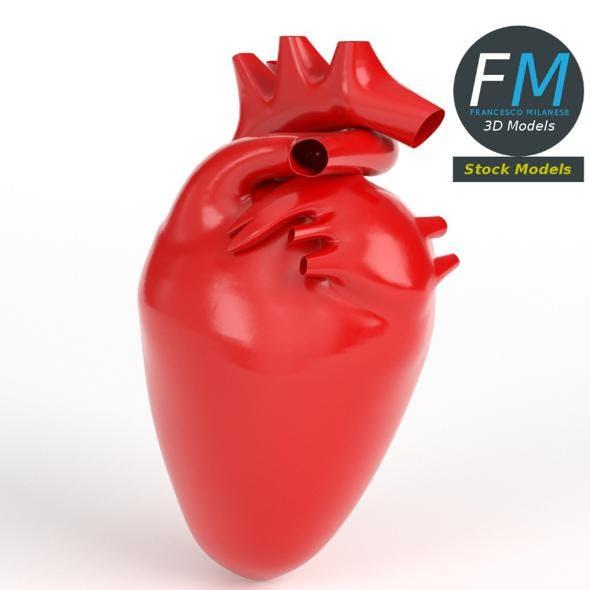 Anatomy - Stylized human heart
