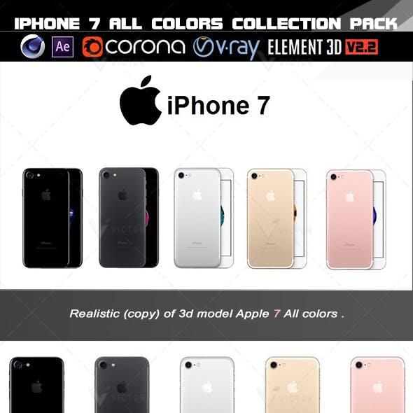 Element 3d  Apple iPhone 7 All colors