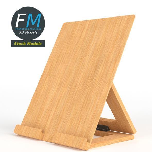 Tablet desktop stand - 3DOcean Item for Sale