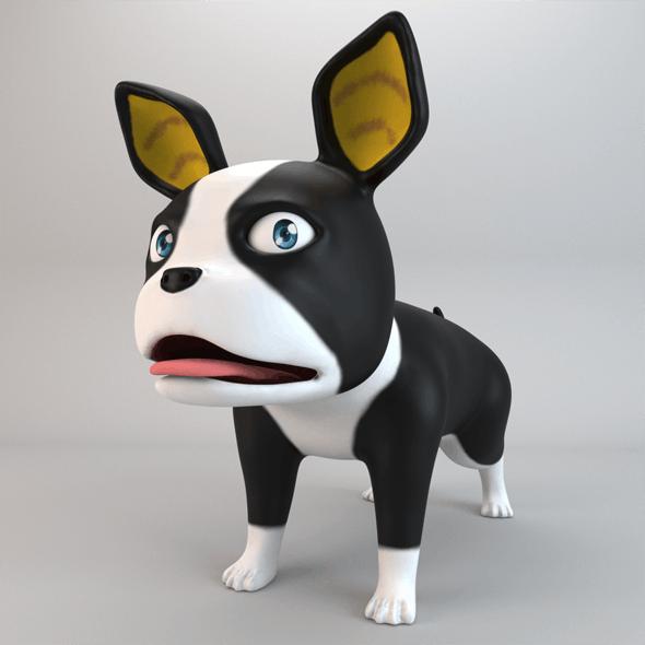 Cartoon Dog Iggy - 3DOcean Item for Sale