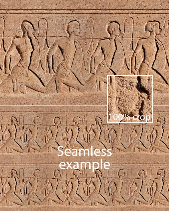 Egyptian Seamless Relief - 3DOcean Item for Sale