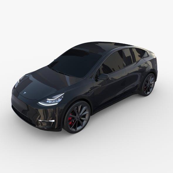 Tesla Model Y Black