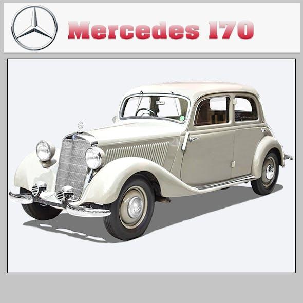 MERCEDES-BENZ TYP 170V CABRIOLET B 1936