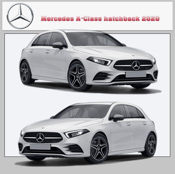 Mercedes A-Class hatchback 2020 - 3DOcean Item for Sale