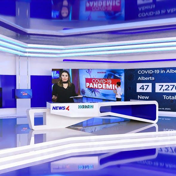 News Studio Tv
