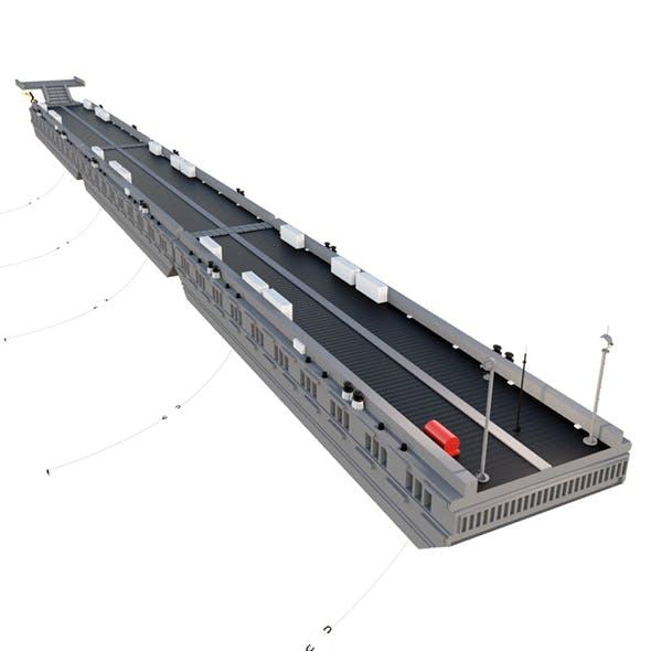 Floating pier, Pontone