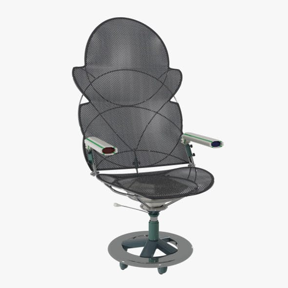 Mesh Office Chair - 3DOcean Item for Sale