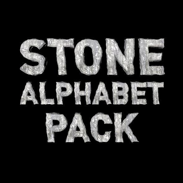 Stone Alphabet Pack