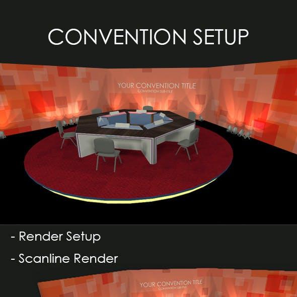Convention Setup