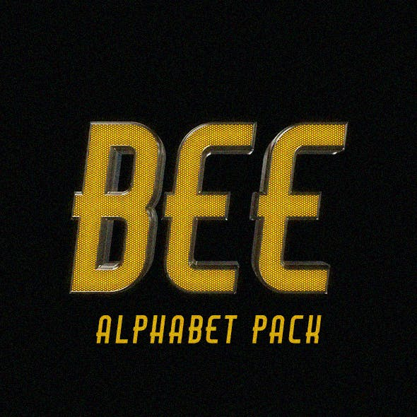 Bee Alphabet Pack