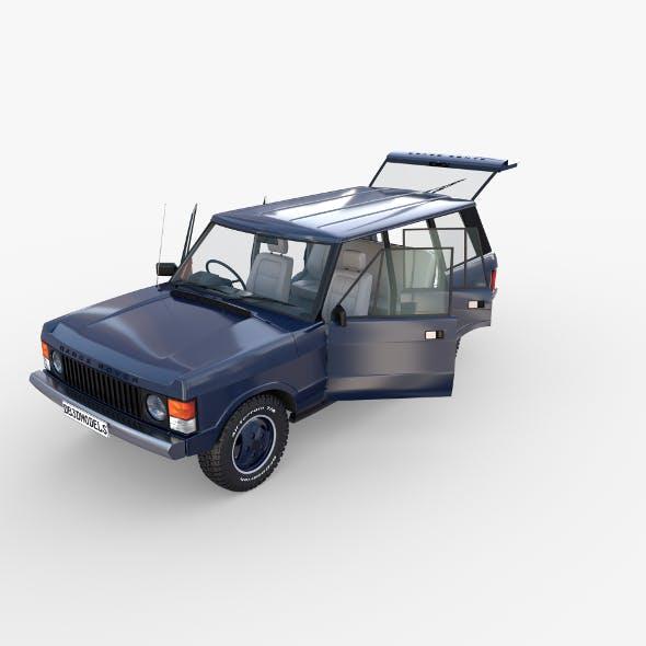 Range Rover Classic with interior RHD