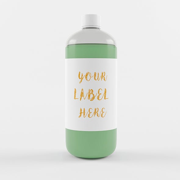 1 Litre Senitizer Bottle
