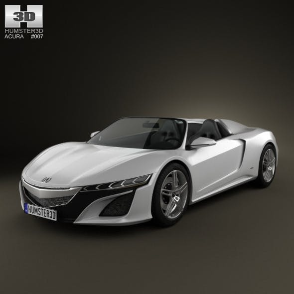 Acura NSX convertible 2012 - 3DOcean Item for Sale