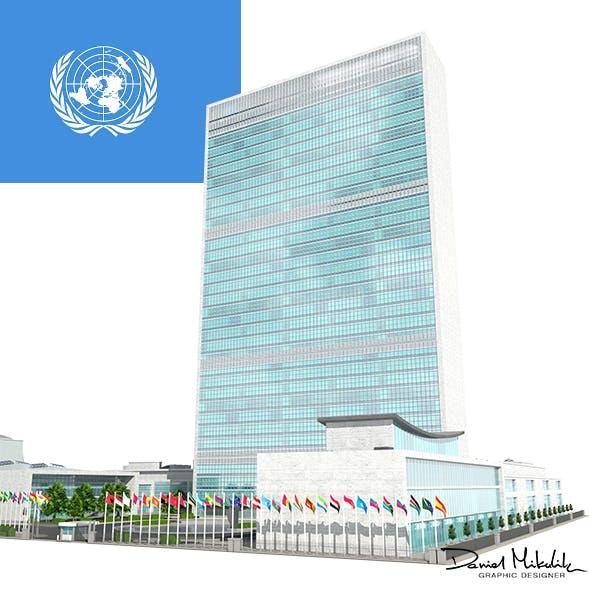 United Nation Headquarter - 3DOcean Item for Sale
