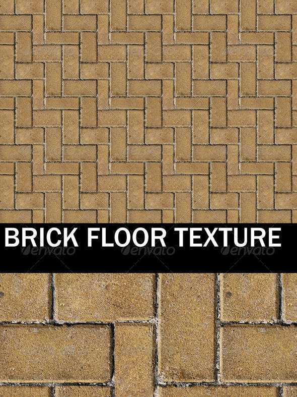 Brick Floor and Ground Texture - 3DOcean Item for Sale