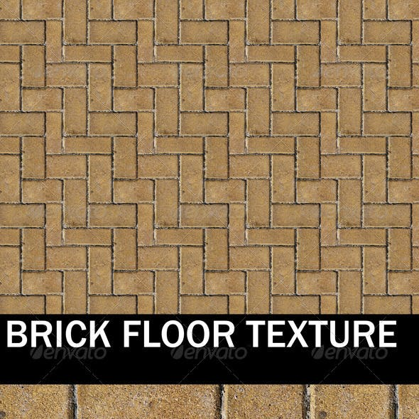 Brick Floor and Ground Texture