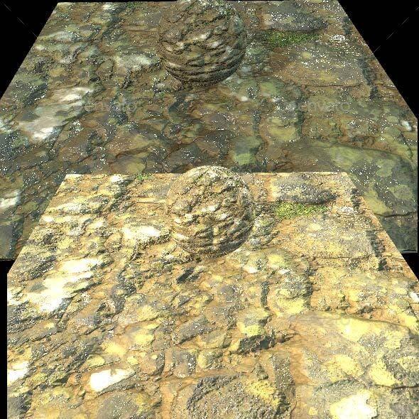 Cliff Rock Texture