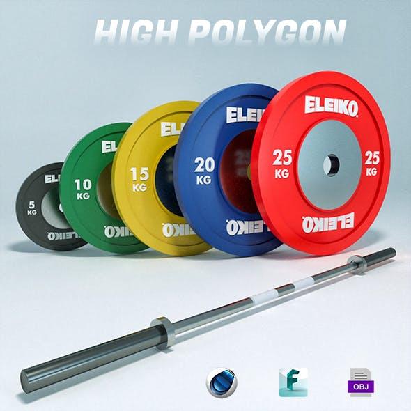 Olympic Weights Bar Set Eleiko
