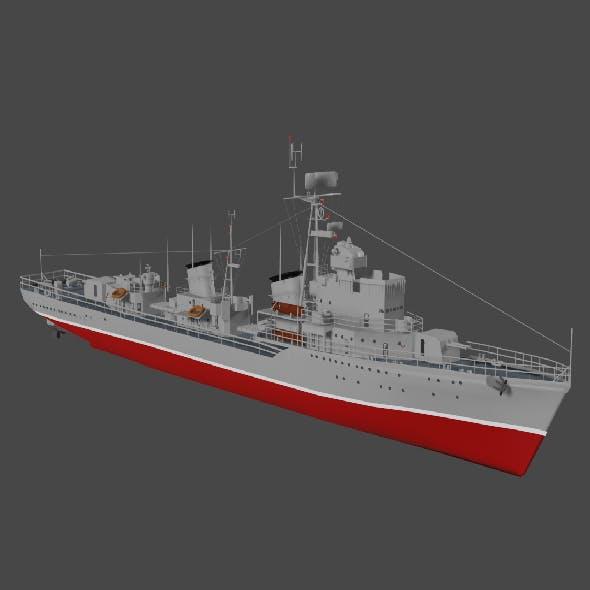Destroyer - 3DOcean Item for Sale