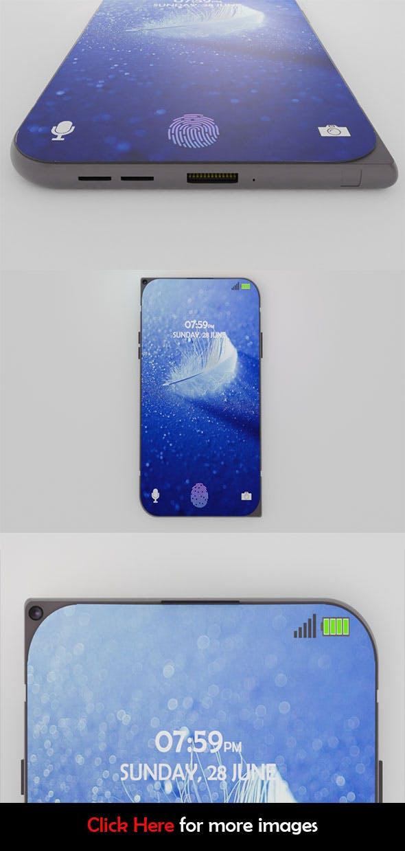 Nokia 7610 5G 2020 Concept Phone - 3DOcean Item for Sale