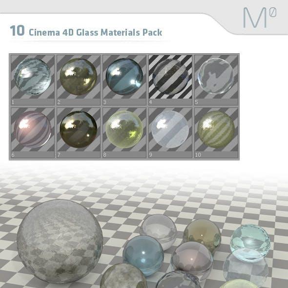 10 Cinema 4D Glass Pack