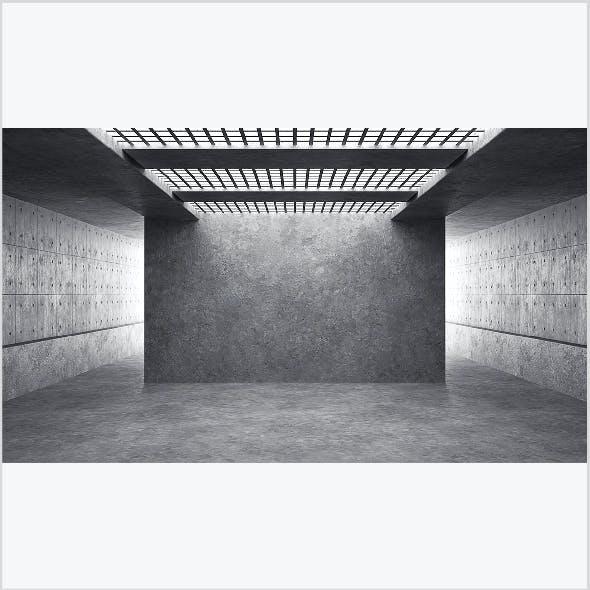 Empty room interior 01