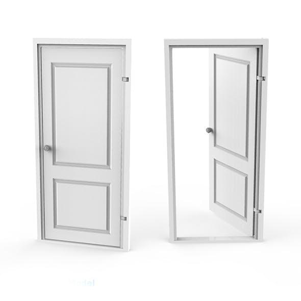 Door 3D Printing Model - 3DOcean Item for Sale
