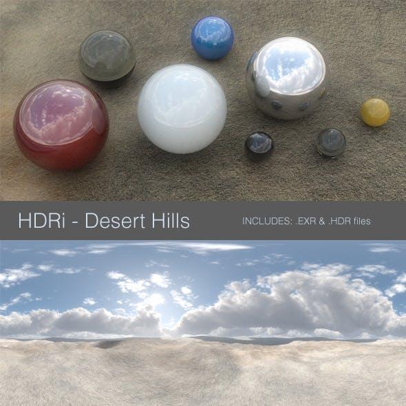 HDRi - Desert Hills
