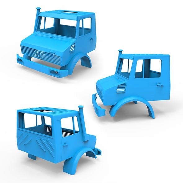 Mercedes Benz Unimog U 3D Printing Model