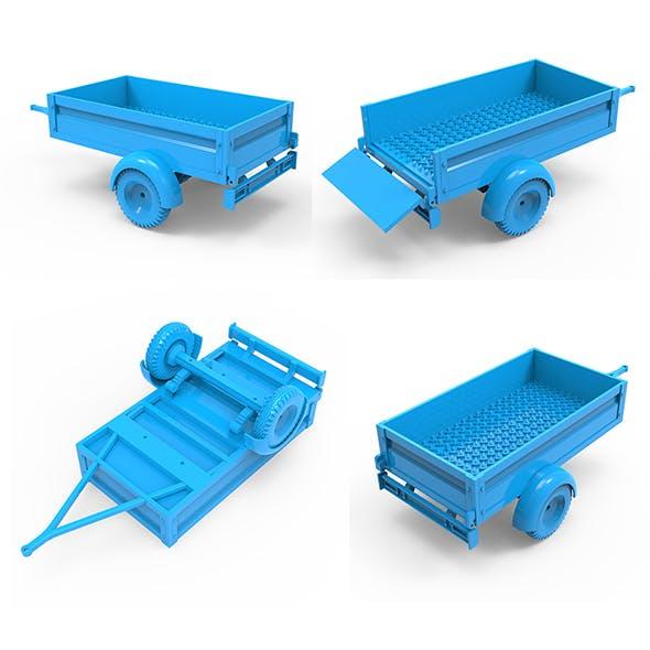Trailer 3D Printing Model
