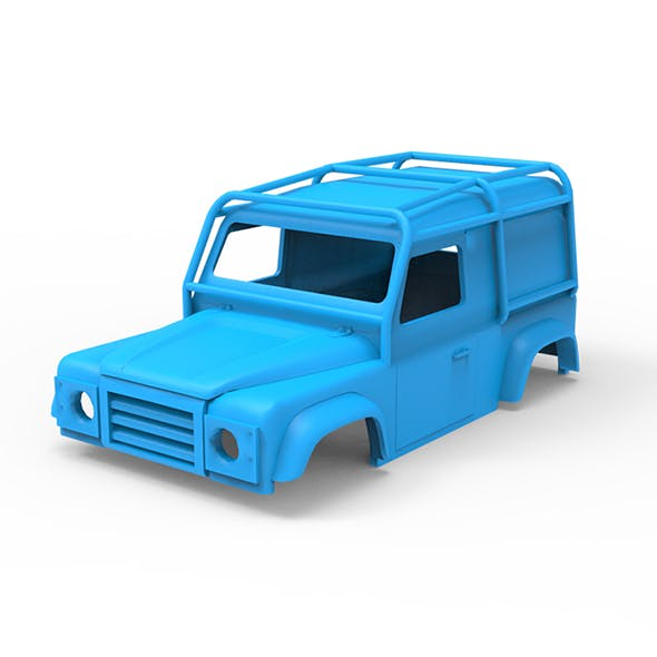Land Rover Defender 90 LE 1997 3D Printing Model - 3DOcean Item for Sale