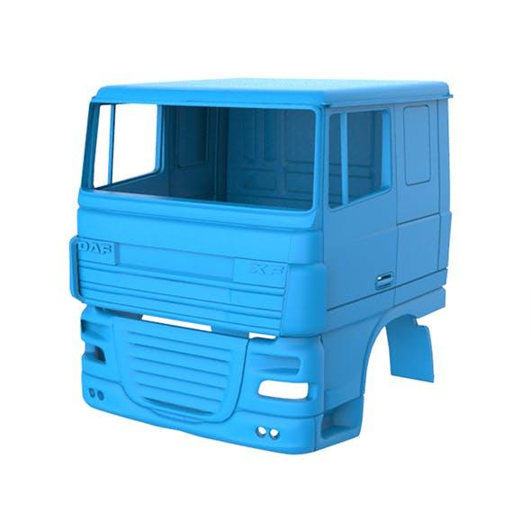 DAF XF 105 Cabin 3D Printing Model - 3DOcean Item for Sale
