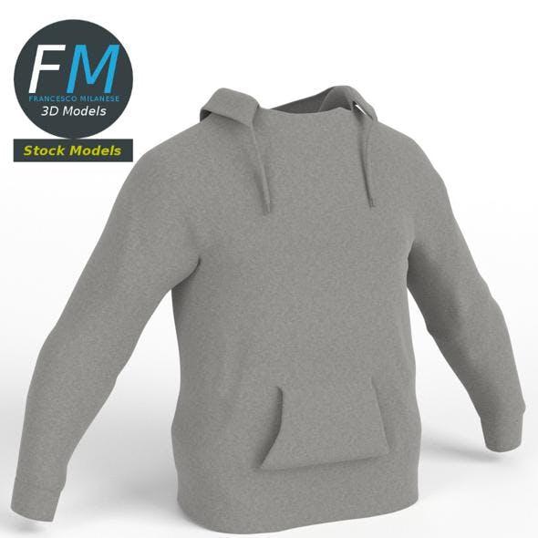 Hooded sweater sweatshirt - 3DOcean Item for Sale