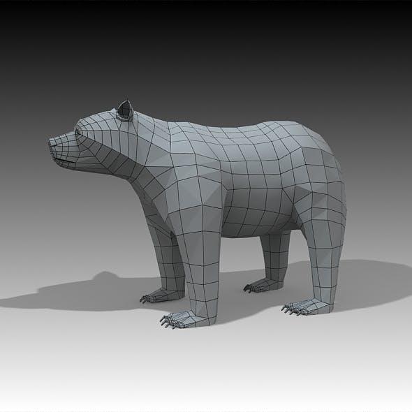 Bear  - 3DOcean Item for Sale