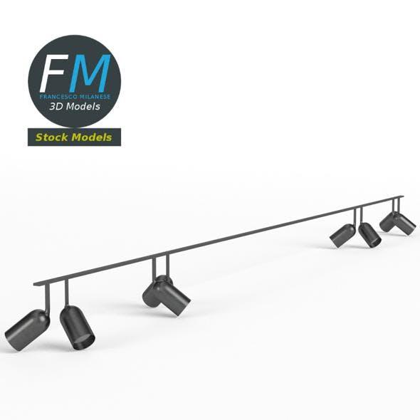 Studio light ceiling frame rig - 3DOcean Item for Sale
