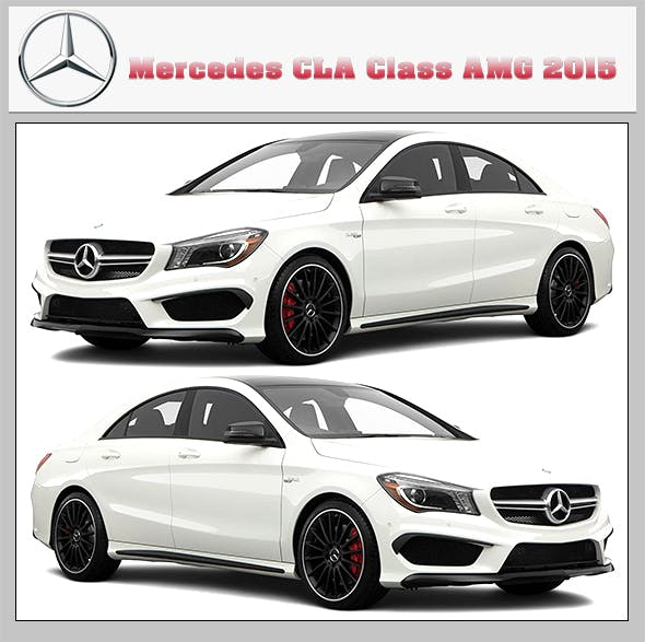 2015 Mercedes Benz CLA Class AMG - 3DOcean Item for Sale
