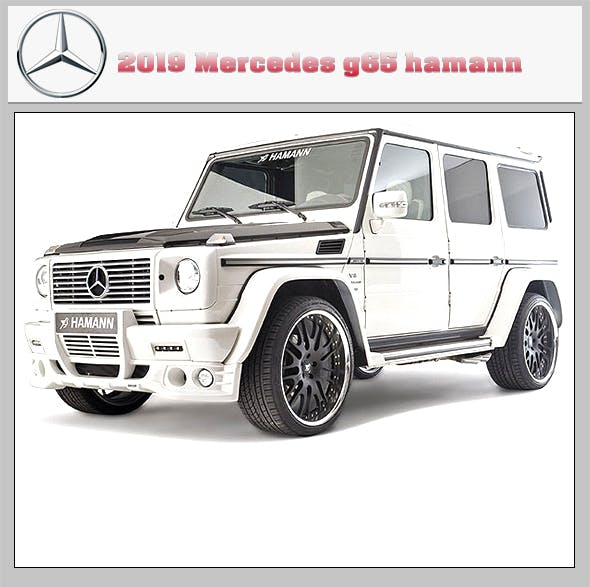 Mercedes-Benz G65 AMG 2019 - 3DOcean Item for Sale